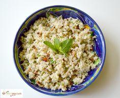 Lemon and Mint Spicy Quinoa Salad