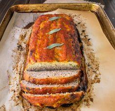 Pork, apple and sage meatloaf. #meatloaf #pork #comfort
