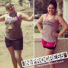 Guest Blogger: Selena {Nom Nom Crunch} before & progress pictures!