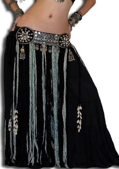 Tribal Mirror Fringe Coin Belt Cute Swag Outfits, Rock Outfits, Dance Outfits, Belly Dance Belt, Belly Dance Outfit, Belly Dancer Costumes, Belly Dancers, Gypsy Costume, Tribal Belly Dance