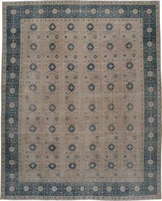 Antique Tabriz Carpet, No.23476 - Galerie Shabab