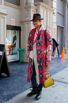 New York Fashion Week :: Street Style, Day 2