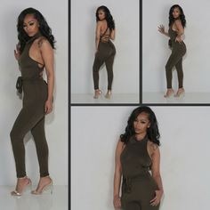 Live the vain life in this jumpsuit that looks great from all angles!
