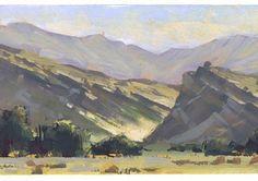 "506 Likes, 4 Comments - Nathan Fowkes LandSketch (@nathanfowkesart) on Instagram: ""Vasquez Canyon. #Pleinairpainting #sketchbook #landscapepainting #gouachepainting"""
