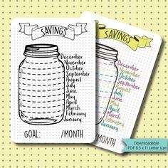 20+ Bullet Journal Ideas: Creative Tracker Charts – Happiness is Homemade