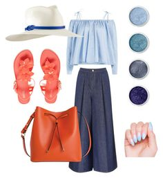 """""""Blue"""" by son9o on Polyvore featuring Sandy Liang, Victoria, Victoria Beckham, Melissa, Terre Mère, Tracy Watts and Lodis"""