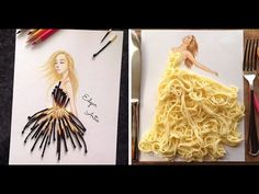 Photo Gallery: http://creativeideas.tips/armenian-fashion-illustrator-creates-stunning-dresses-everyday-objects-10-pics The original owner of this video is E...