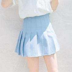 Imagem de blue, skirt, and pastel Baby Blue Aesthetic, Light Blue Aesthetic, Everything Is Blue, Himmelblau, Powerpuff Girls, Magenta, Periwinkle, Favorite Color, Ideias Fashion