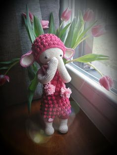 Lupo the lamb made by Ela S. / crochet pattern by lalylala