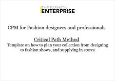 Critical Path Method – TFE Designer Toolkit