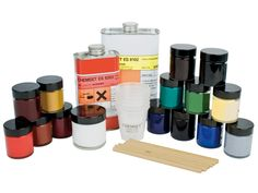Epoxy enamelling resin often referred to as cold enamel gives a wide selection of colours effects without the need for a kiln.