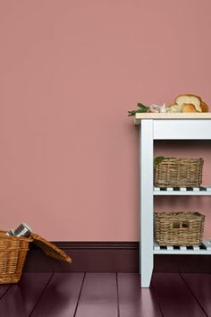 Cinder Rose - Paint Colours - Farrow & Ball It's not the cheery pink that you feel forced to smile at, it's the calm, grown up type that would work in almost any room in the home