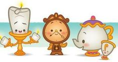 I wanna get Mrs Potts and Chip! So cute for my daughter and I... :)