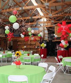 """""""Red Solo cup, I fill you up. LET'S HAVE A PARTY!"""" And that's exactly what we did. [[MORE]] One of our clients wanted to have a party with a red solo cup theme. She gave me complete freedom to turn..."""