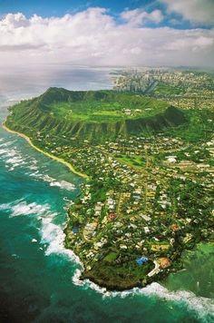 Diamond Head, O'ahu, Hawaii