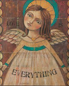 2993 Love is Everything8x10 Original Paintings