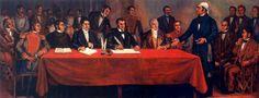 """Sesión Solemne Conmemorativa del 200 Aniversario de la Declaración de Independencia de la América Septentrional el 6 de noviembre de 1813, miércoles 6 de noviembre 17:30 horas, en el Gran Salón """"Libertador Miguel Hidalgo"""", Justo Sierra No. 19, Centro Histórico de la Ciudad de México"""