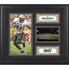 "John Crockett North Dakota State Bison Fanatics Authentic Framed 15"" x 17"" Player Collage - $49.99"