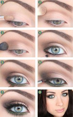 Jungle Fever green makeup