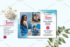 Senior Photograpy Mini Session V1234 by Template Shop on @creativemarket