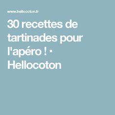 30 recettes de tartinades pour l'apéro ! • Hellocoton