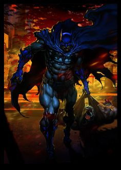 batman vs bane by kanartist on DeviantArt