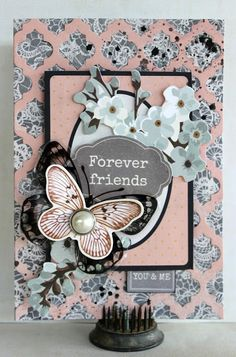 Forever Friends Card - Kaisercraft Ma Cherie