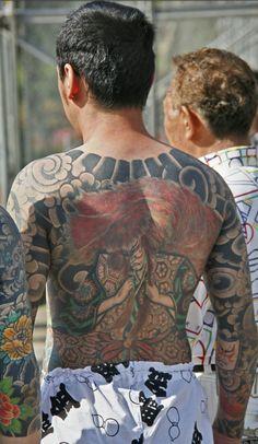 Yakuza Style Tattoo, Irezumi Tattoos, Asian Tattoos, Back Tattoos, Japanese Tattoos, Body Reference, Japanese Art, Tattoo Inspiration, Canvas Art