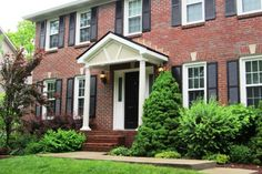 Front Stoop Makeover   Add a portico to your front door for class and functionality