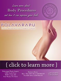 Polavarapu Plastic Surgery Body Procedures Weight loss pregnancy and aging can bring many undesirable changes on your body Fortunately plastic surgeons offer bodyslimmin. Body Contouring, Slim Body, Plastic Surgery, Body Shapes, Body Care, Restore, Weight Loss, Pregnancy, Fat