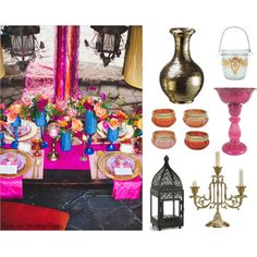 East Meets West Wedding Ideas by afloral on Polyvore featuring art Diy Wedding Supplies, Diy Wedding Favors, Diy Wedding Decorations, Wedding Ideas, Fake Flowers, Diy Flowers, Wedding Flower Arrangements, Wedding Flowers, Arabian Nights Party