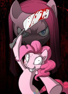 Pinkie Pie~there's a creepypasta story of pinkie pie it is called Cupcakes