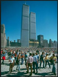 The World Trade Center, NYC 1973
