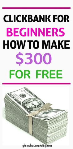 Many people may be aware of the affiliate marketplace clickBank. Learning how to make money with clickBank is not always as easy as their site would have you believe. Find out the crucial piece how to work from home online using clickbank. Online Income, Earn Money Online, Make Money Blogging, Make Money From Home, Online Cash, Earning Money, Ways To Save Money, How To Make Money, Online Digital Marketing