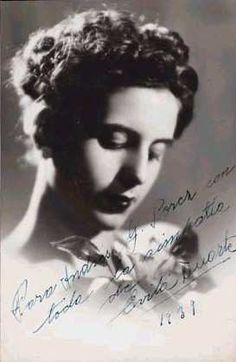 Beautiful Image of Eva Peron