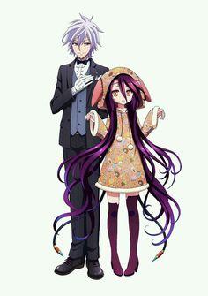 No game No life Zero Shiro and Sora Manga Anime, Anime Art, Shiro, I Love Anime, Awesome Anime, Nogame No Life, Loli Kawaii, Animes Wallpapers, Cute Anime Couples