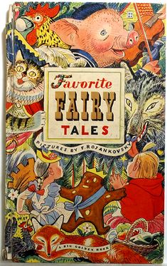 Favorite Fairy Tales, vintage children's book - A Big Golden Book