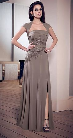 mother of the groom desses | VM Collection 70809 Mother of the Groom Dress image