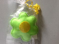 Felt flower rattle and more on FB at Little Blessings Gifts