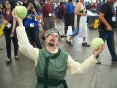 Victor Sgroi's cosplay is more perfect than any moment in the hapless Cabbage Merchant's travels through the world of Avatar: The Last Airbender ever was.