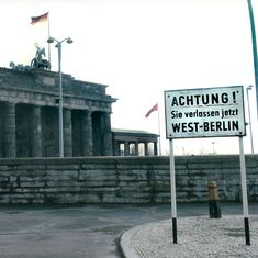 30 years ago today, the Berlin Wall fell. But long before that, amateur engineers modded machines to escape the grip of the Soviet Union. Berlin Wall Fall, Border Guard, German Police, Bmw Isetta, Across The Border, British Sports Cars, East Germany, Steel Bar, Soviet Union