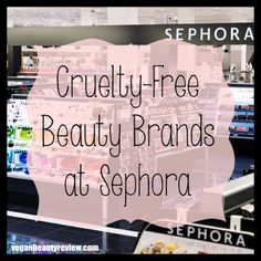 Compassionate beautyjunkies (raising both hands), did you know Sephora actually carries a nice and diverse selection of cruelty-free and vegan-friendly cosmetics, skincare products, nail polishes, perfumes, etc? 'Tis True, and this list is only gonna get longer, I know it!! Get ready to jot down these cruelty-free beauty brands for the next time you... Read More >>