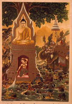 The Life of the Buddha (Thailand) : Sangha Life/ Monks & Nuns : Mingkok : Buddhistdoor