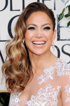 Golden Globes 2013 Red Carpet Hair and Beauty Looks: Glamour Magazine (Glamour.com UK)