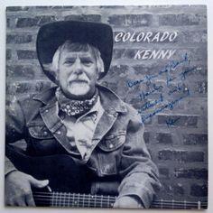 Ken Krause - Colorado Kenny LP Vinyl Record Album, F.R.O.G.G. Records (0001) - 510071XB, Folk, Country, 1985, Illiinois Private Pressing