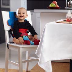 TULI - przenośne krzesełko do karmienia, 119 zł, www. Chair, Furniture, Home Decor, Stool, Interior Design, Home Interior Design, Arredamento, Home Decoration, Decoration Home