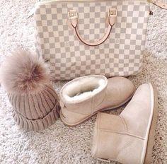 Ugg Louis Vuitton Fur-bun