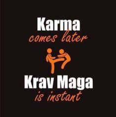 Karma comes later... Krav Maga is instant!   #kravmaga #kravlife #ilovekravmaga #sheriffmobley #shawnmobley