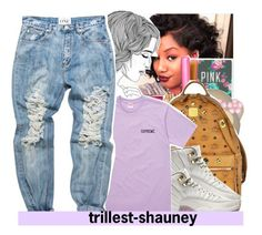 """""""gucci please tell me that u love me can i be yo mane squeeze tell me that u love me gucci gucci gucci please"""" by trillest-shauney ❤ liked on Polyvore featuring art"""