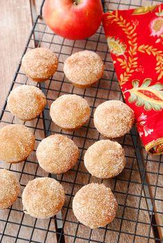 Apple Cider Cinnamon Muffins smells like fall baking! Muffin Recipes, Apple Recipes, Fall Recipes, Sweet Recipes, Baking Recipes, Dessert Recipes, Cupcakes, Cupcake Cakes, Fall Baking